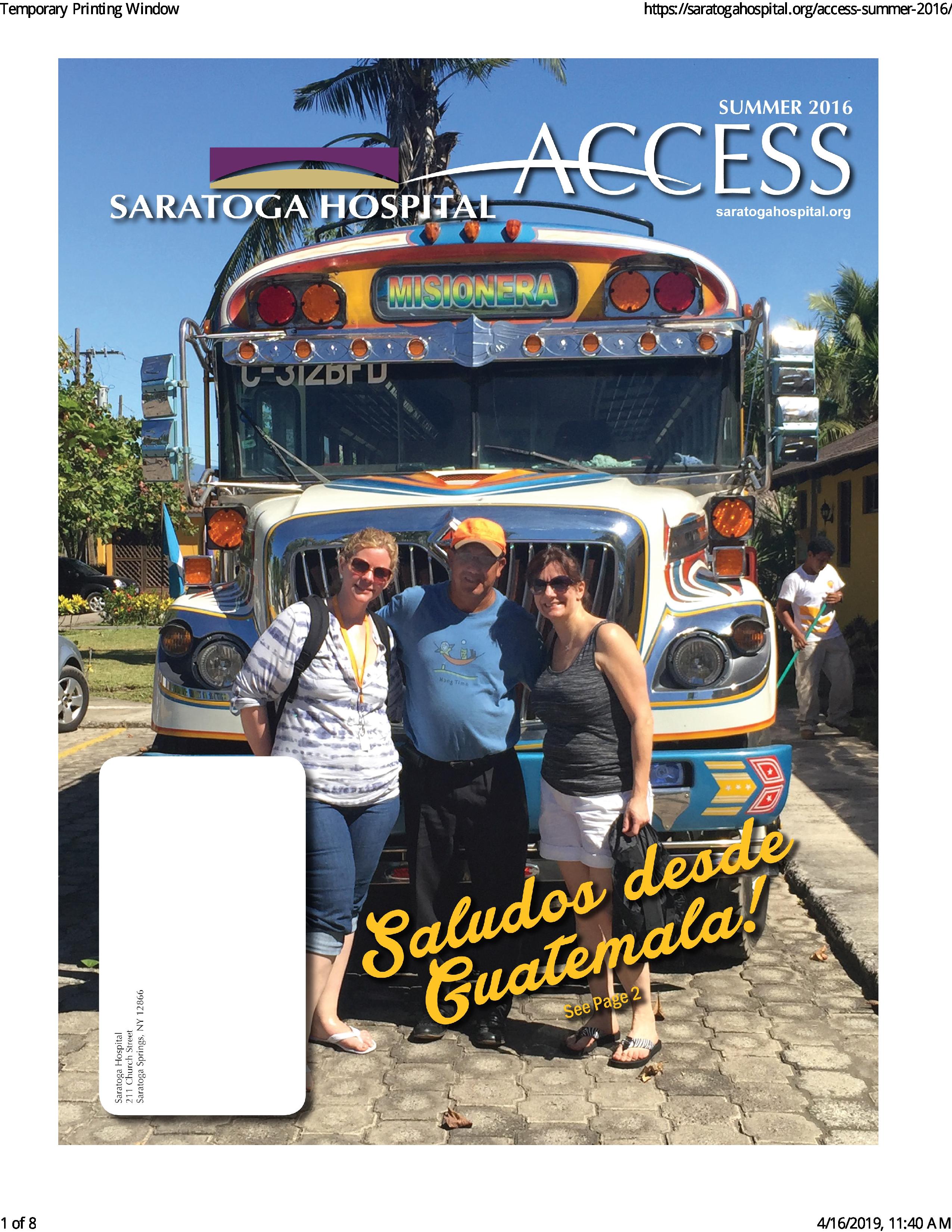 Access Magazine Online Summer 2016