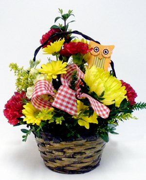 Medium Basket of Flowers
