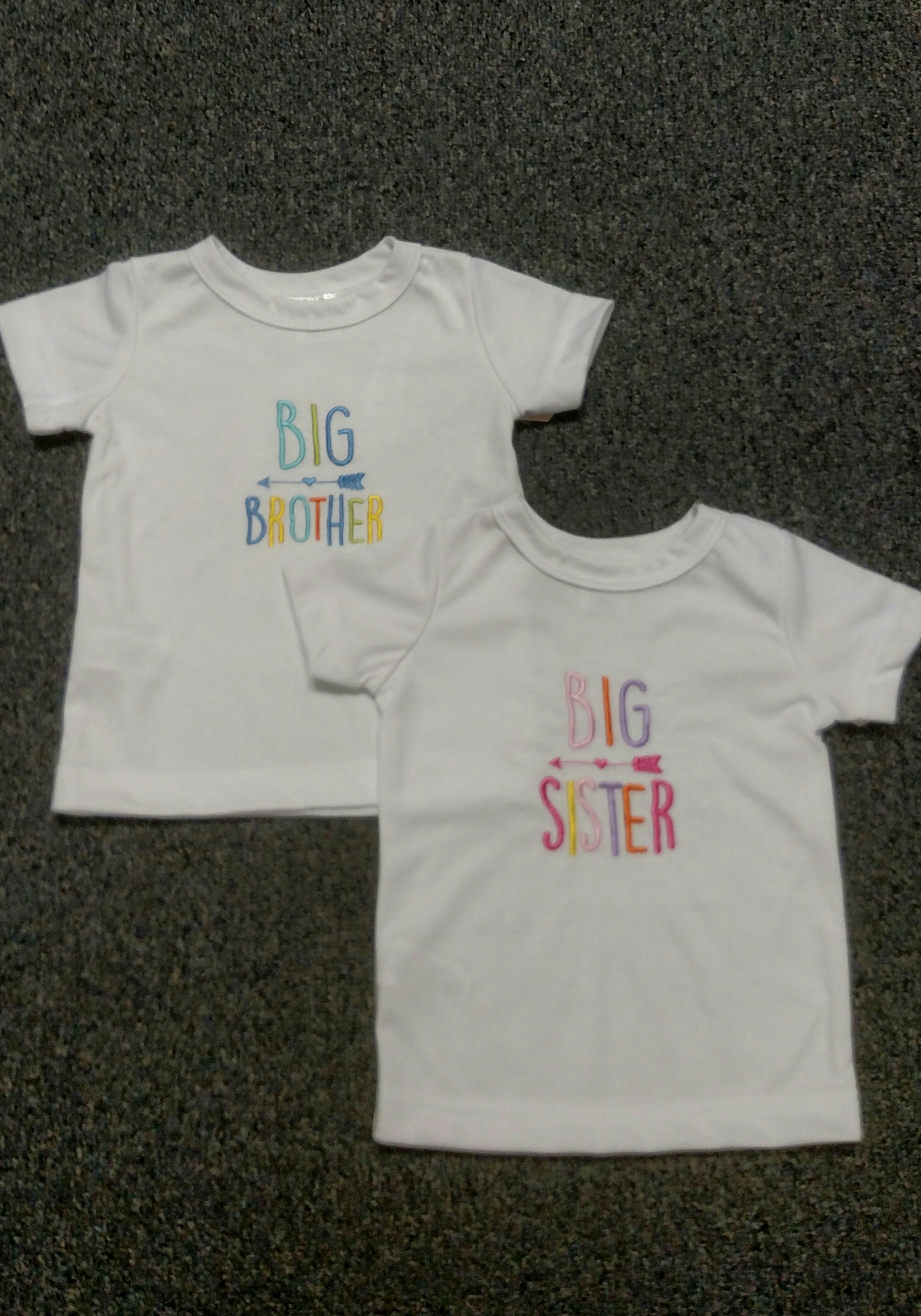 Big Sister or Big Brother T-Shirt