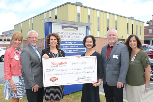 Hannaford Charitable Foundation Donates $100k for Teaching Food Pantry