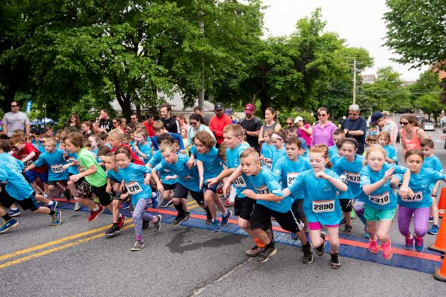 Saratoga-Hospital-Cantina-Kids-Fun-Run starting line