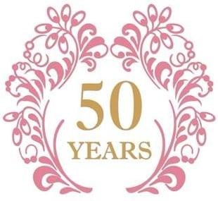 50 years graphic