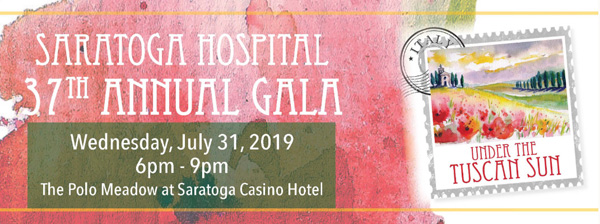 Saratoga Hospital 37th gala info