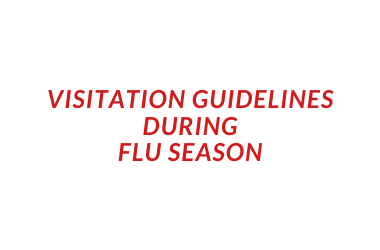 Visitation Guidelines to Be Implemented at Area Hospitals to Combat Flu, Infectious Diseases