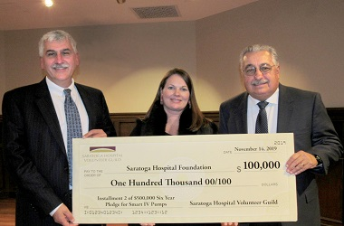 Saratoga Hospital Volunteer Guild Gifts $210,000 for Vital Healthcare Needs