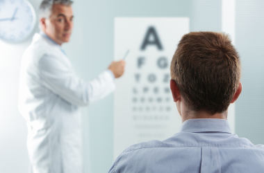 Vision month eye exam