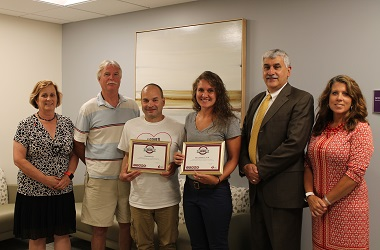 Employees of Saratoga Hospital and Skidmore College Recognized as Heartsaver Heroes by the American Heart Association
