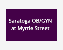 Saratoga OBGYN at Myrtle Street portal button