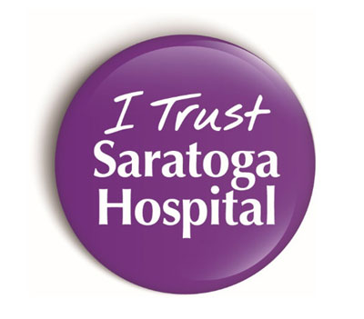 I trust saratoga hospital button