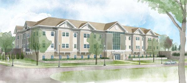 Medical Office Center rendering