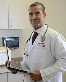Dr. Rachid Daoui headshot