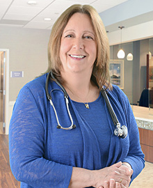 Provider Terri Jones-Kingman, NP