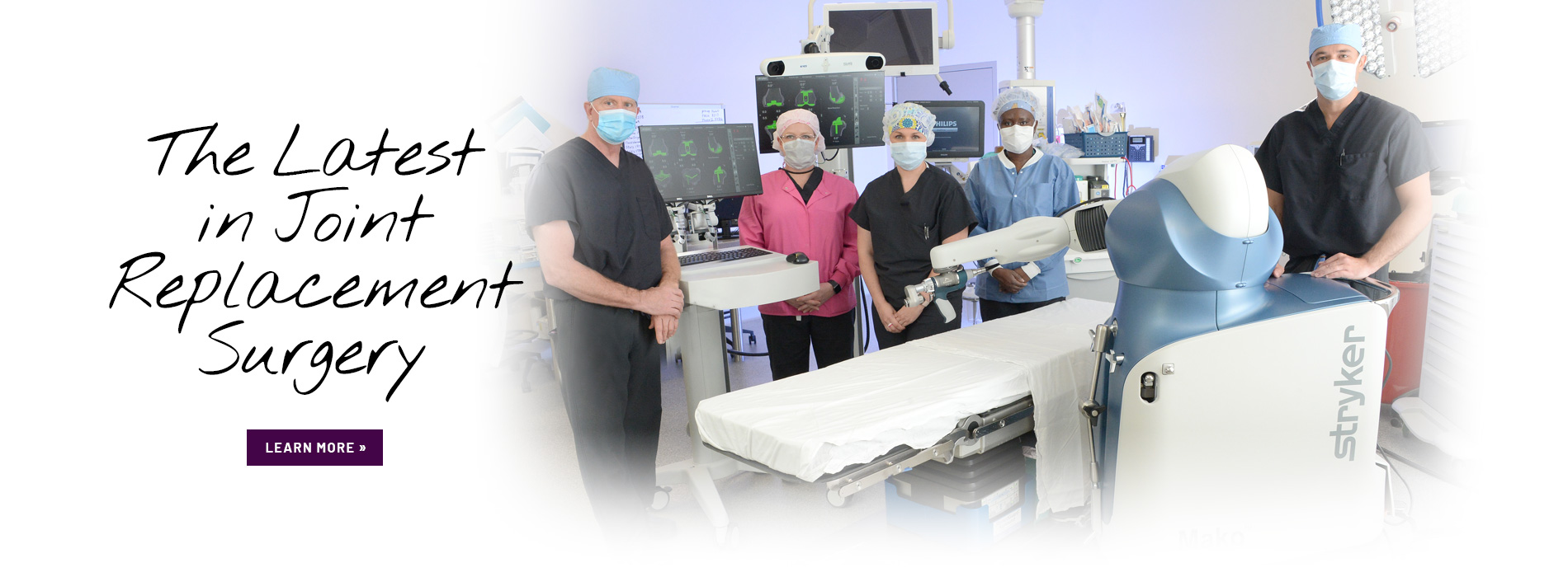 Joint Replacement operating room