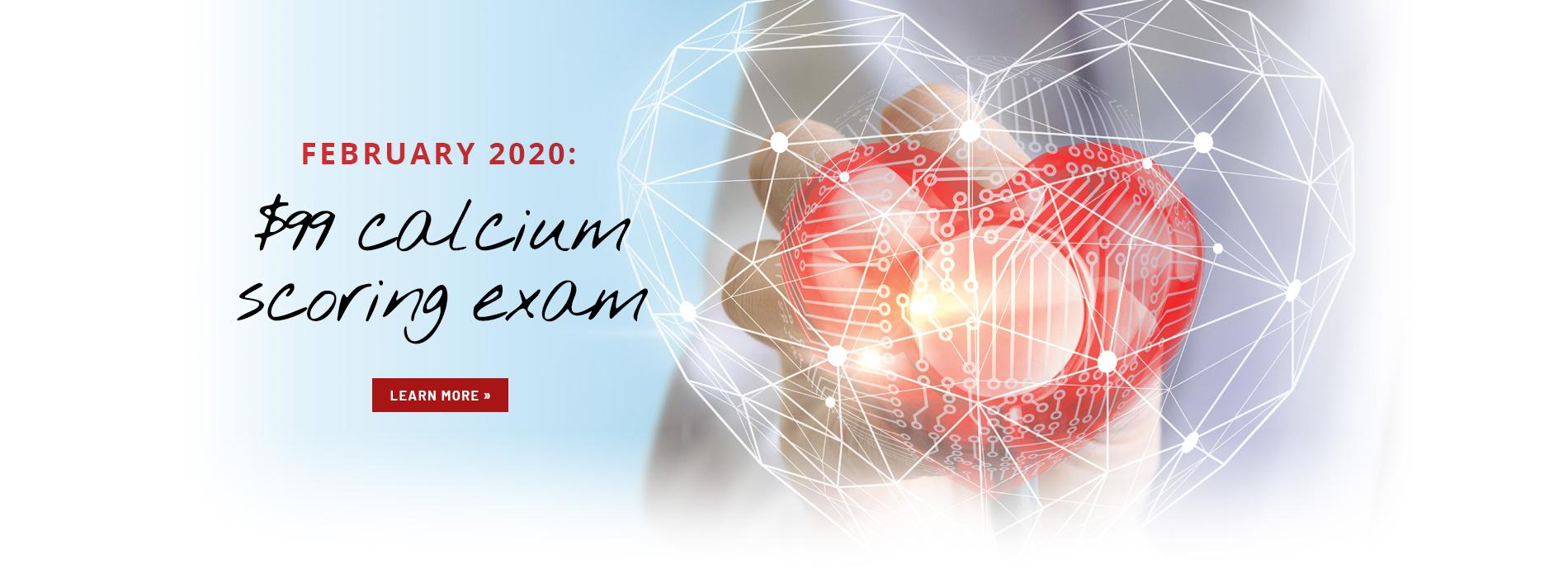 Cardiac Calcium Scoring Exam Feb 2020