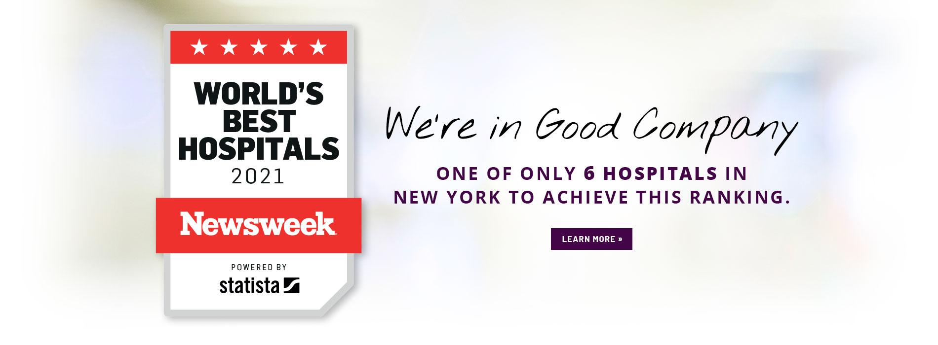 worlds best hospital list