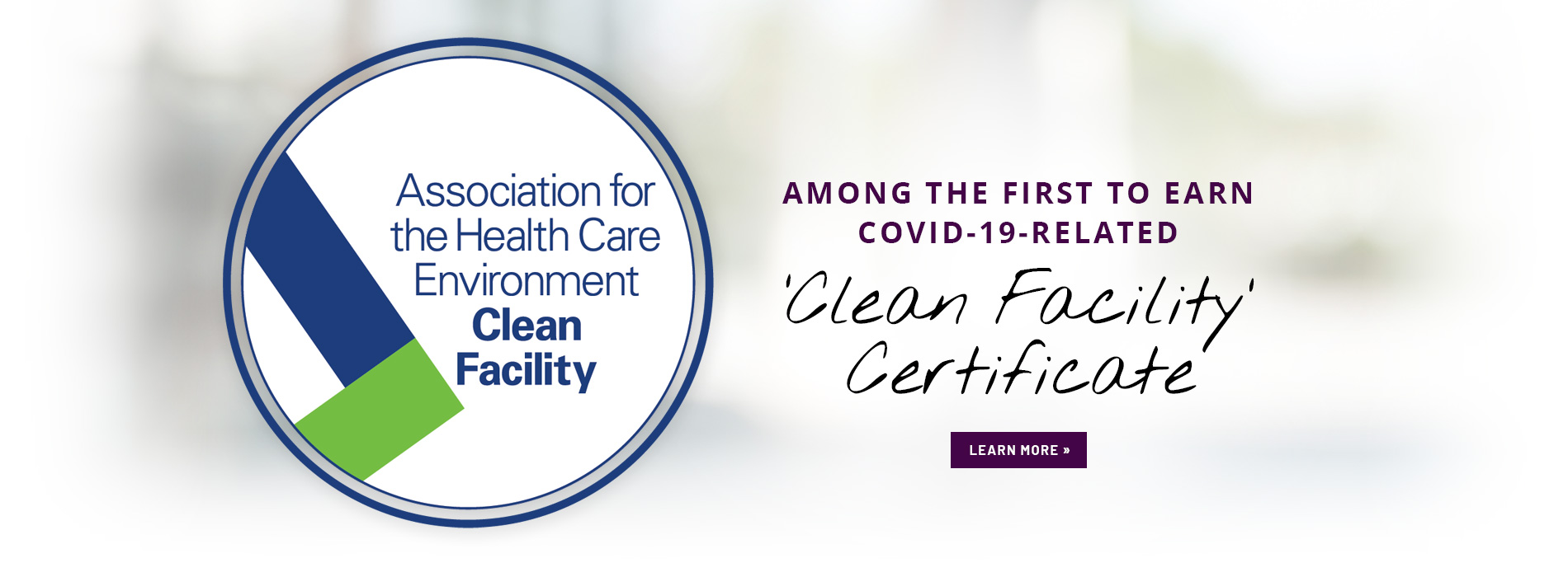 Saratoga Hospital amont the first to earn covid-19 related clean facility certification