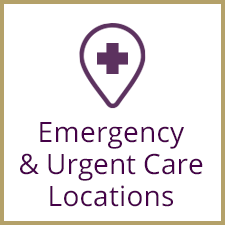 Emergency and urgent care locations
