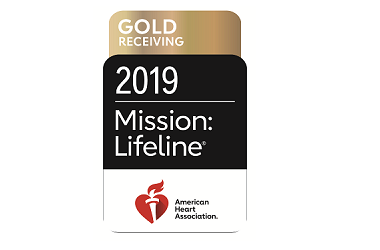 Saratoga Hospital receives Mission: Lifeline Gold Receiving achievement award